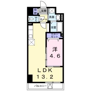 1LDK Mansion in Imado - Taito-ku Floorplan