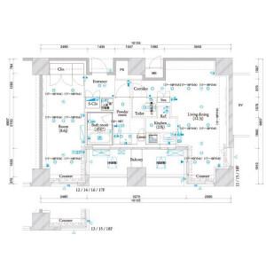 1LDK Apartment in Shibaura(1-chome) - Minato-ku Floorplan