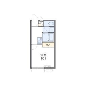 1K Apartment in Imagumano hozocho - Kyoto-shi Higashiyama-ku Floorplan