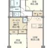 3LDK Apartment to Buy in Ota-ku Floorplan