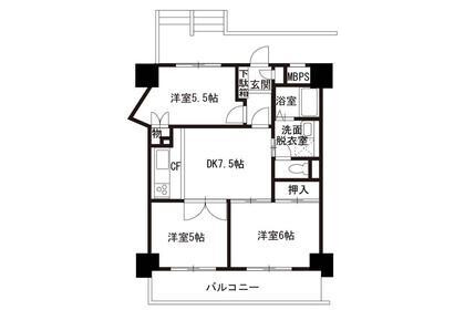 3DK Apartment to Rent in Kita-ku Exterior