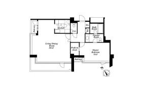 港区六本木-1LDK公寓