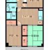 3DK Apartment to Rent in Yokohama-shi Midori-ku Floorplan