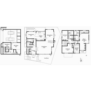 4LDK {building type} in Tomigaya - Shibuya-ku Floorplan