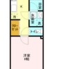 1K Apartment to Rent in Kawagoe-shi Floorplan