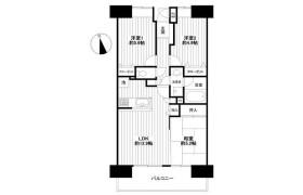 3LDK Apartment in Hamada - Chiba-shi Mihama-ku