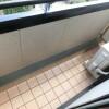 1K Apartment to Rent in Meguro-ku Balcony / Veranda