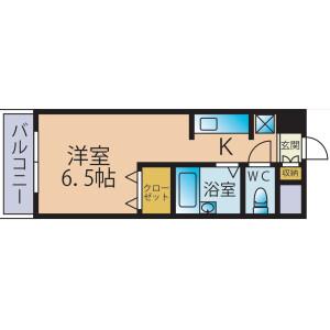 1R Mansion in Ikegamishincho - Kawasaki-shi Kawasaki-ku Floorplan