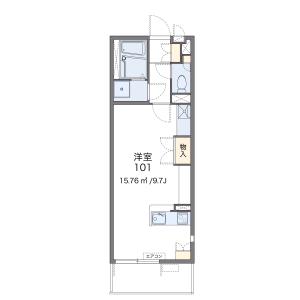 1R Mansion in Makuharicho - Chiba-shi Hanamigawa-ku Floorplan