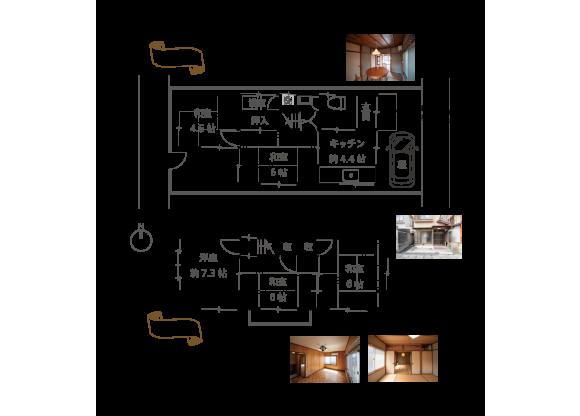 5K House to Buy in Kyoto-shi Sakyo-ku Floorplan