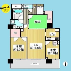 大田区蒲田-3LDK{building type} 楼层布局