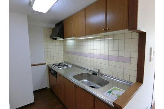 3LDK Apartment to Buy in Kyoto-shi Minami-ku Kitchen