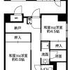 在札幌市厚別区内租赁3DK 公寓大厦 的 楼层布局