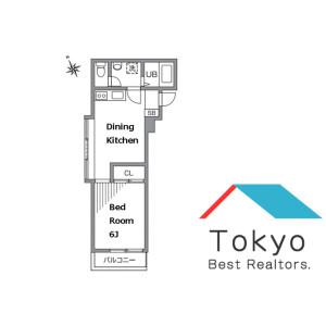 1DK Mansion in Kichijoji honcho - Musashino-shi Floorplan