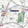 1K Apartment to Buy in Shinjuku-ku Map