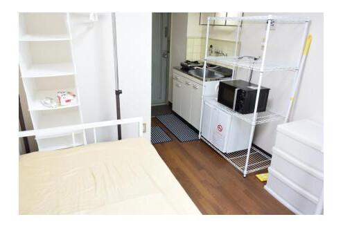 1R Apartment to Rent in Osaka-shi Higashinari-ku Bedroom