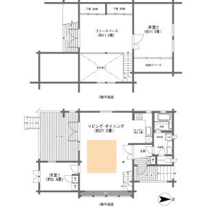 2LDK {building type} in Motohakone - Ashigarashimo-gun Hakone-machi Floorplan