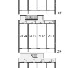 1K Apartment to Rent in Ota-ku Floorplan