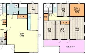4SLDK Apartment in Nishisunacho - Tachikawa-shi