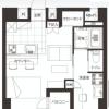 在中央區購買1R 公寓大廈的房產 房間格局