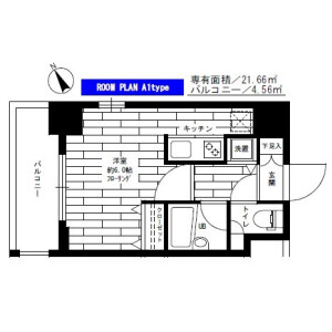 1R Mansion in Nishiwaseda(sonota) - Shinjuku-ku Floorplan