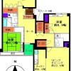 4LDK Apartment to Rent in Bunkyo-ku Floorplan