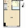 1K Apartment to Buy in Yokohama-shi Minami-ku Floorplan