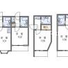 在豐島區內租賃1K 公寓 的房產 房間格局