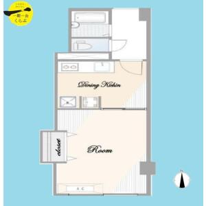 1DK {building type} in Shimotakaido - Suginami-ku Floorplan