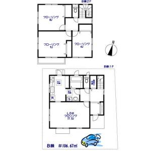 3LDK House in Minamiogikubo - Suginami-ku Floorplan