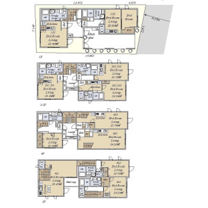 Whole Building {building type} in Asagayakita - Suginami-ku Floorplan