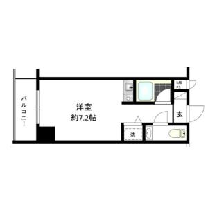 1R {building type} in Minamiazabu - Minato-ku Floorplan