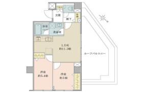 2LDK {building type} in Yochomachi - Shinjuku-ku