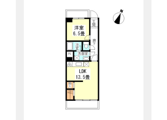1LDK マンション 渋谷区 間取り