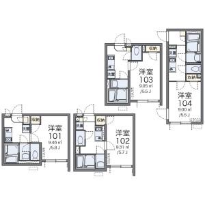 1K Apartment in Shinjuku - Shinjuku-ku Floorplan