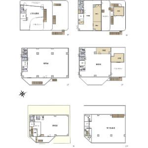 Whole Building {building type} in Higashiazabu - Minato-ku Floorplan