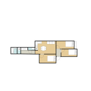3LDK Mansion in Takadanobaba - Shinjuku-ku Floorplan