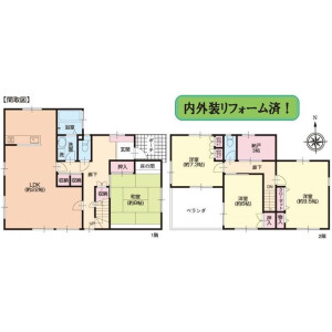 4LDK House in Katsuradainaka - Yokohama-shi Sakae-ku Floorplan