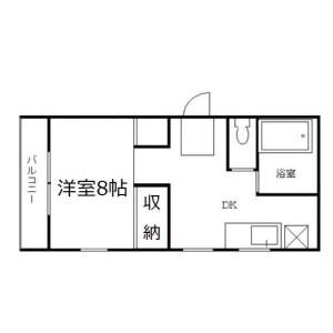 1DK Mansion in Kotobuki - Taito-ku Floorplan