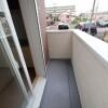 1DK Apartment to Rent in Yokohama-shi Kohoku-ku Balcony / Veranda