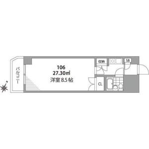 1K Mansion in Ikebukuro (2-4-chome) - Toshima-ku Floorplan