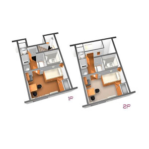 1K Apartment in Takasago - Katsushika-ku Floorplan