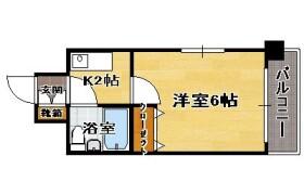 1K {building type} in Arato - Fukuoka-shi Chuo-ku