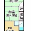 2DK Apartment to Buy in Matsubara-shi Floorplan