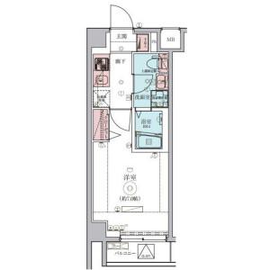 1K Mansion in Saginuma - Kawasaki-shi Miyamae-ku Floorplan