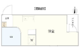 1R {building type} in Todoroki - Setagaya-ku