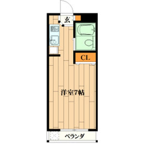 1R Mansion in Himurodai - Hirakata-shi Floorplan