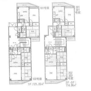 Whole Building {building type} in Matsugi - Hachioji-shi Floorplan