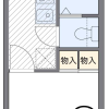 1K Apartment to Rent in Kitakyushu-shi Moji-ku Floorplan