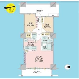 2LDK {building type} in Higashishinagawa - Shinagawa-ku Floorplan